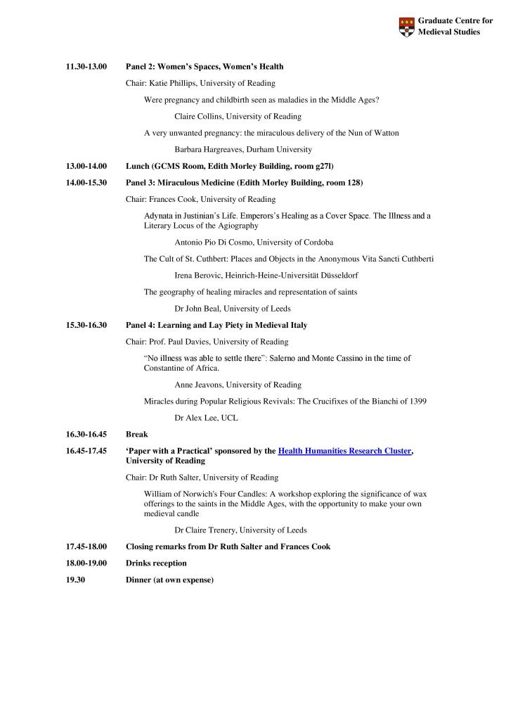 Programme for MMM 2018 - 19.02.18, p. 2